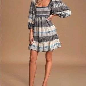 NWOT without tag free people mini dress XS